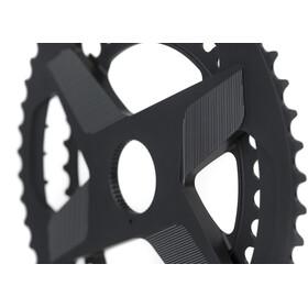 Rotor Aldhu Direct-Mount Plato Doble redondo, negro